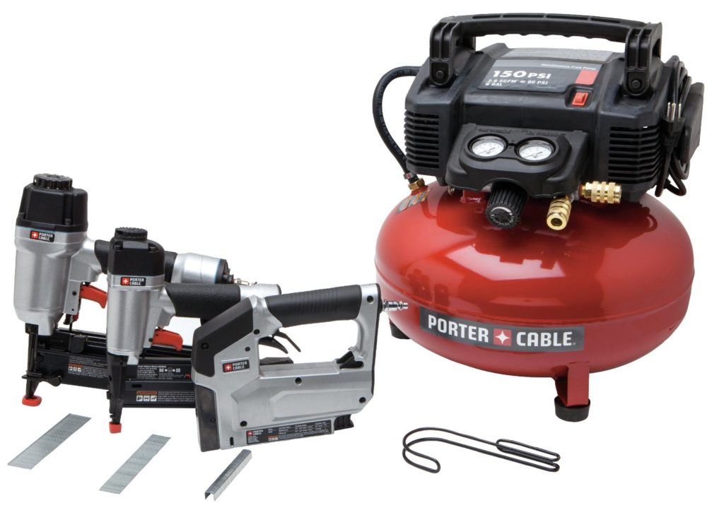 Porter Cable air tool combo kit best nail gun